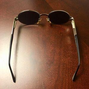 Fendi Vintage Matrix-Style Sunglasses